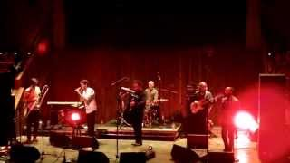 Beirut perform No No No live at Manchester Albert Hall
