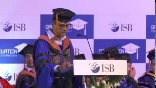 ISB Graduation Day 2015, Hyderabad Campus Ceremony