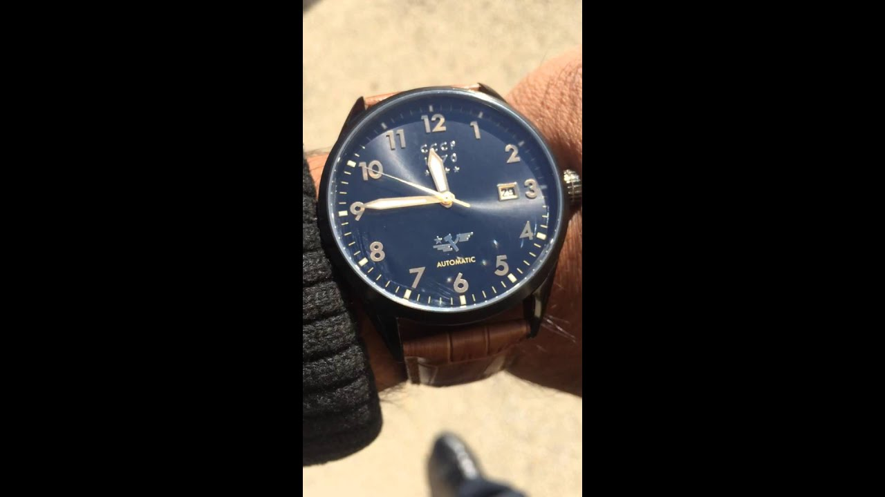 Youtube Automated Cms By Teedeskdev: Cccp Automatic Watch