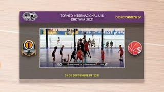 U16M - BASKET BASSANO vs SNM INTERNATIONAL USA.- Torneo Internacional Cadete Villa de la Orotava2021