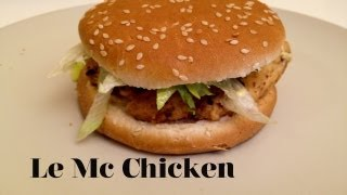 Comment faire le  Mc Chicken de Mcdo | FastGoodCuisine