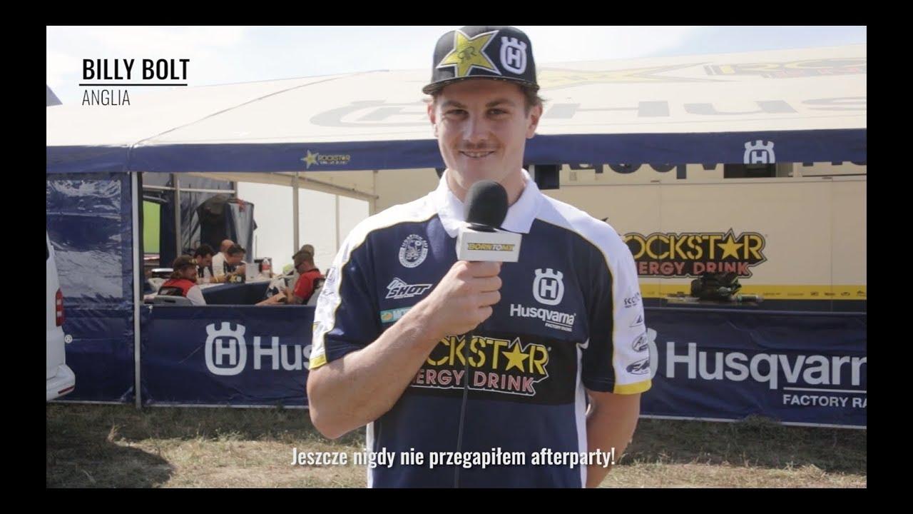 Mistrzostwa Świata FIM SuperEnduro: Q&A z Billy Bolt