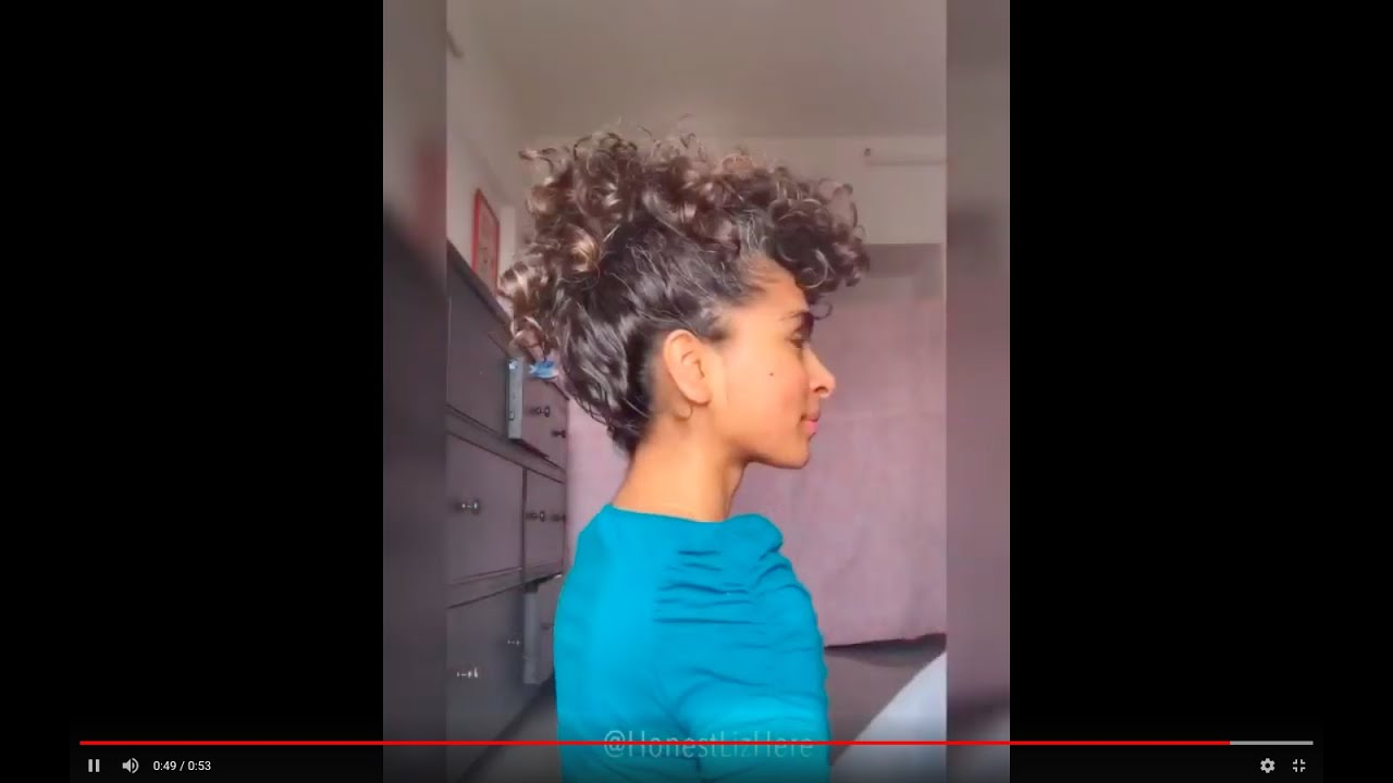 Faux Mohawk With Puff Cuff Youtube