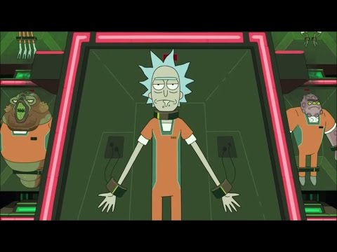 Rick Goes to Jail - Rick & Morty Season 2 Finale HD