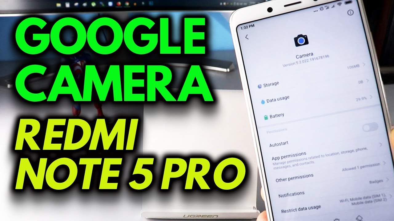 GOOGLE CAMERA on Redmi Note 5 Pro - How to Install GUIDE