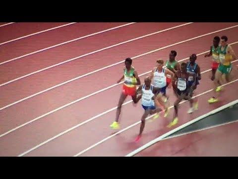 Download Youtube: Muktar Edris beats Mo Farah 5000m Men Final IAAF World Champs London 2017
