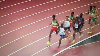 Muktar Edris beats Mo Farah 5000m Men Final IAAF World Champs London 2017