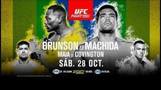 UFC Fight Night - Sao Paulo: Brunson vs Machida