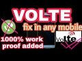 How to convert lte to VOLTE /how to make LTE to VOLTE /LTE to VOLTE convert /technical news upadates