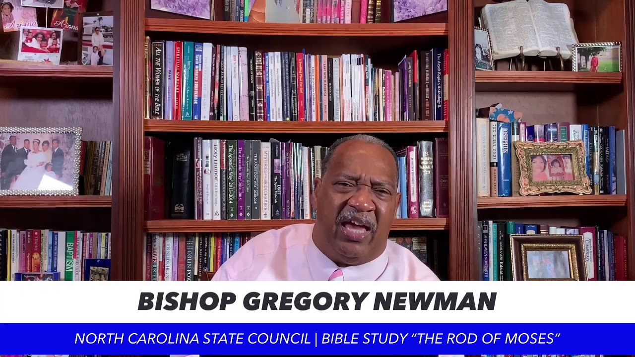 BIBLE STUDY WITH BISHOP NEWMAN