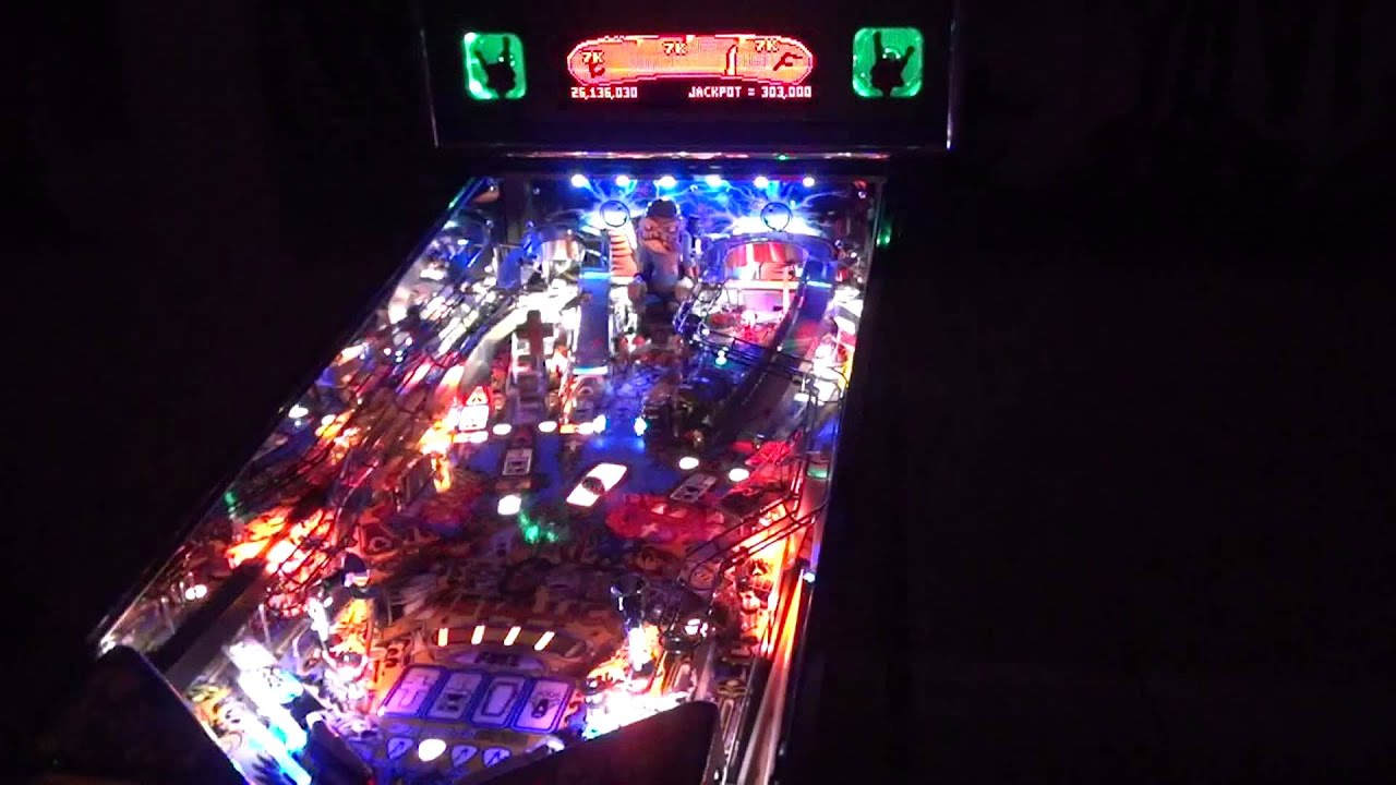 metallica pinball machine for sale