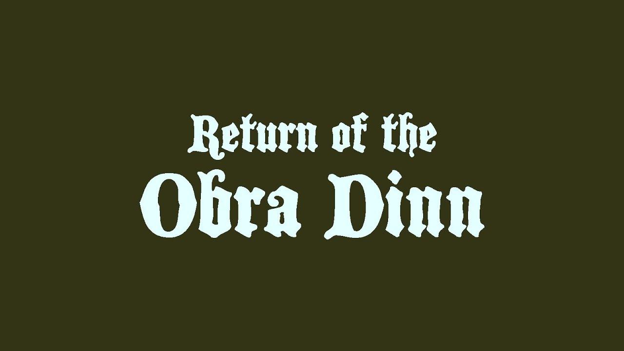 Нуарный детектив Return of the Obra Dinn от создателя Papers, Please обзавелся новым трейлером