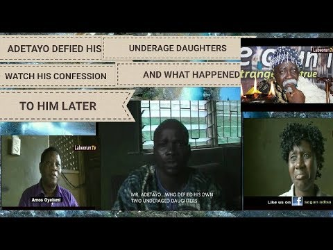 BUSTED!!!ADETAYO DEFIES OWN DAUGHTERS   WATCH WHAT HAPPENED NEXT
