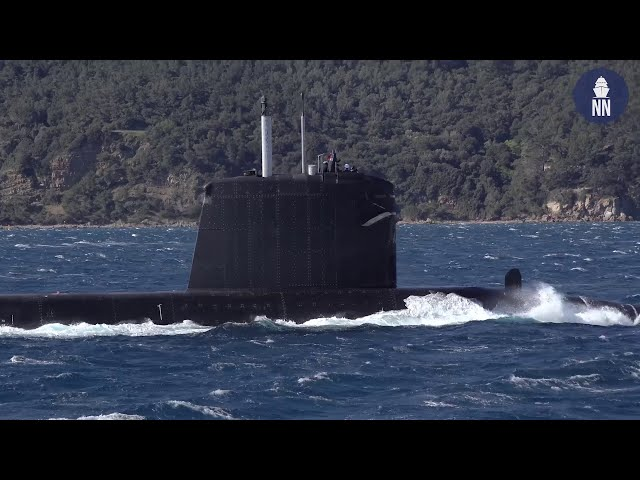 French Navy Submarine Émeraude Deployed to the Indo-Pacific and South China Sea