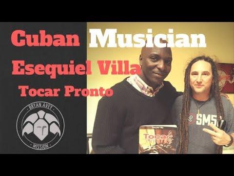 Cuban Musician - Piano Player - Esequiel Villa