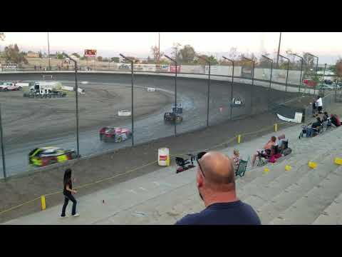 Mod lites main event at Bakersfield Speedway 6/23/18