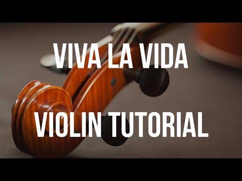 Violin Tutorial: Viva La Vida