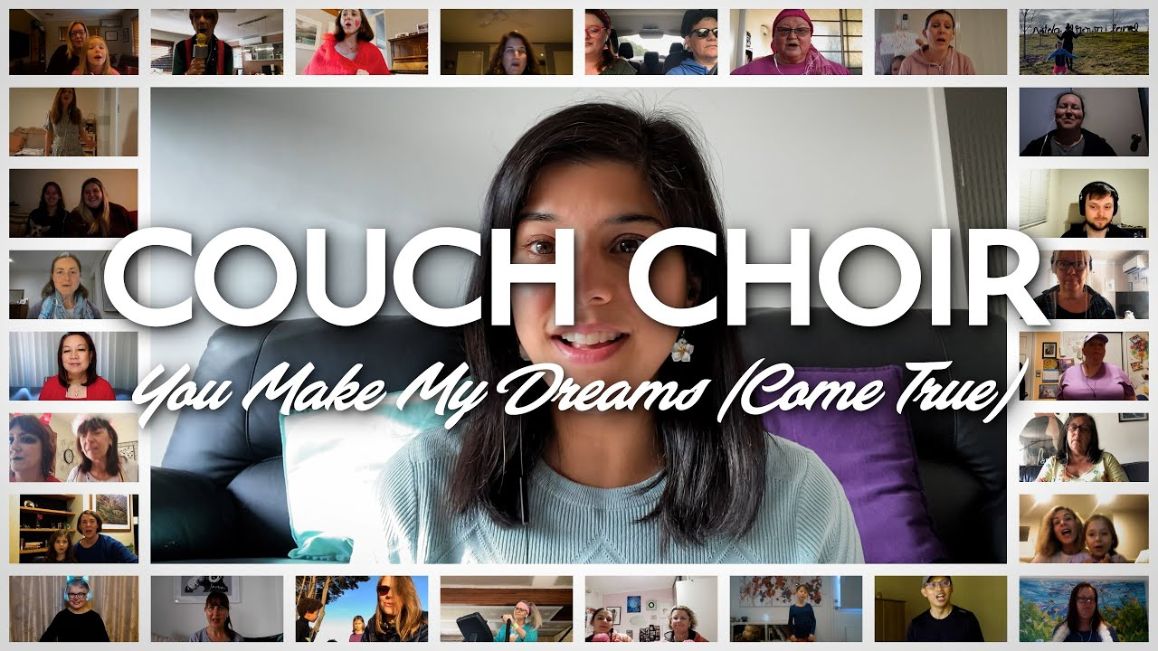 Couch Choir sings 'You Make My Dreams (Come True)' - Hall & Oates