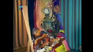 Уроки живописи # 38. Рисуем натюрморт «Русские хлеба»
