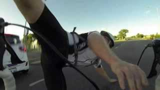 Car v cyclist
