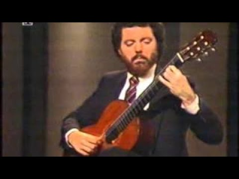 Rare Guitar Video: Manuel Barrueco plays Chaconne by J S Bach