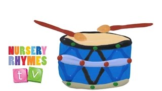 DRUMS | Preschool Learning Videos. Music for Kids