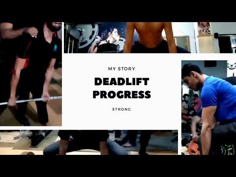 7 Month DEADLIFT TRANSFORMATION 154-374LBSx1   Larry Wheels Program