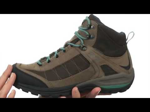 77bf575ad750 Teva Women s Kimtah Mid WP Mesh Waterproof Hiking Boot - YouTube