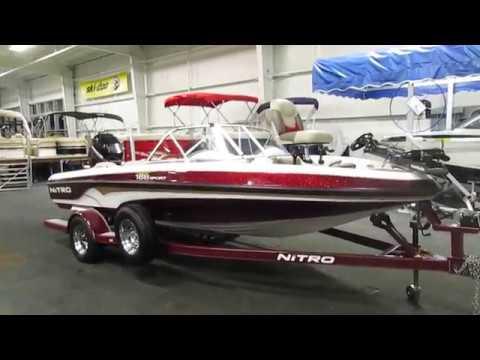 2002 Nitro 188 Sport Fish And Ski UB2395