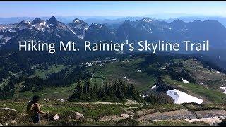 Hiking Mt Rainier's Skyline Trail