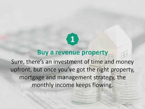 Calgary Mortgage Consultant reveals 5 ways to generate passive income…
