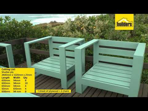 DIY Outdoor Single Seater Chair - Part 1 of 3