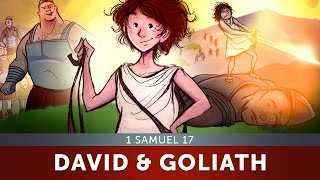 Sunday School Lesson for Kids - David and Goliath - 1 Samuel 17 - Bible Teaching Stores for VBS