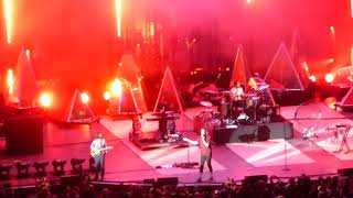 "Imagine Dragons ""Shots"" in concert 10-1-2017 Hollywood Bowl LA, California"