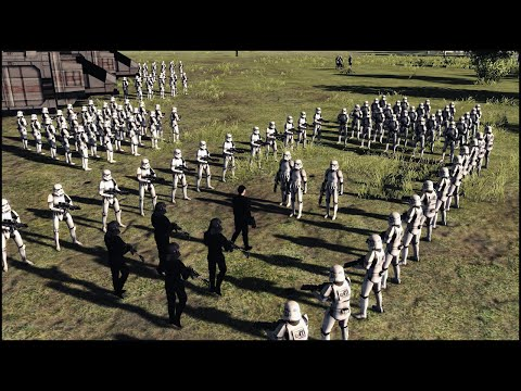 ATTACK ON YAVIN 4 - Star Wars: Galaxy at War Mod Gameplay