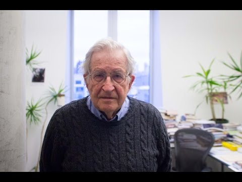 Noam Chomsky, 'The Human Species Has Never Faced A Question Like This' (2016)