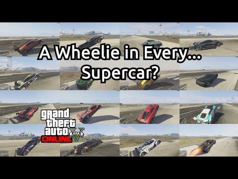 A Wheelie In Every... Supercar?