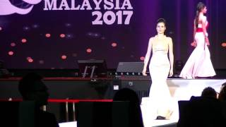 B Camera, Evening Gown, Supermodel International Malaysia 2017