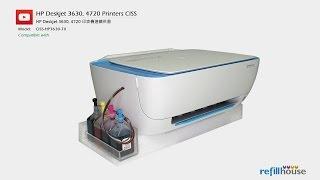 HP Deskjet 2130, 2135, 3630, 3635, 4720 CISS  HP 63, 302, 123, 803; HP 664, 680, 652; HP 46;