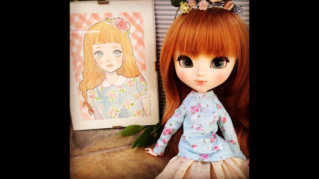Custom Pullip Nerea Pozo Doll Youtube