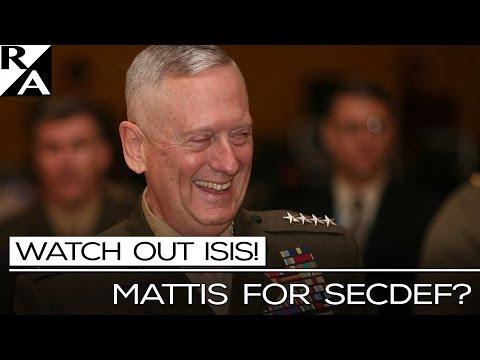 RIGHT ANGLE: MATTIS FOR SECDEF?