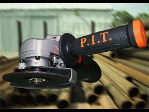 P.I.T. 125 Угловая шлиф машинка PIT 125, ПИТ Болгарка! ОБЗОР, УШМ 125