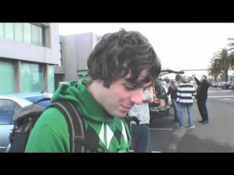 Arctic Monkeys video diary 06 - Melbourne day Two