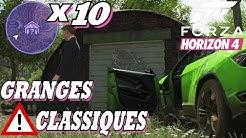 FORZA HORIZON 4: Tous les Trésors De Grange 'Classique' X10 (Hors Saison et Spécial)