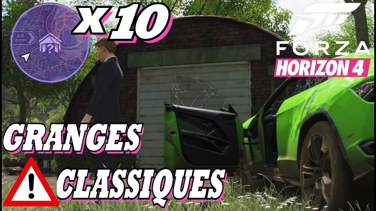 Forza Horizon 4 Tous Les Tresors De Grange Classique X10 Hors