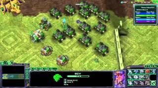 Starcraft 2|nexus Wars|kapusta|1080p Sk/cz