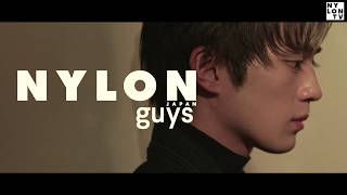 今号のNYLON guysには、とびきりスウィートなマスクに、熱い演技が武器...