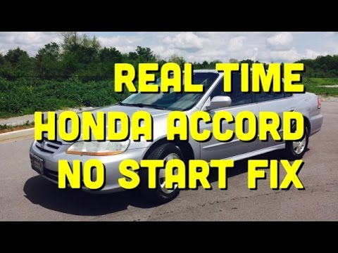Honda Accord Won T Start 6th Gen 1997 2002 Bundys Garage