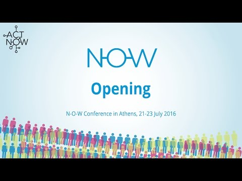 NOW Conference Athens - Opening