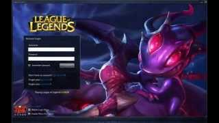 Void Fizz Login Screen